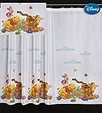 Winnie the Pooh New Voile Kinder Gardine, 75cm x 280cm