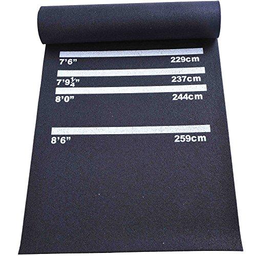 Homcom Dart/Gummi-matte Dartzubehör für Steel/Soft-dart Teppich rutschfest Neu, B8-0005