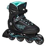 K2 Skate Damen Kinetic 80 Inline Skates, schwarz ,42 EU