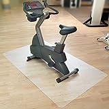 Floordirekt SPORT Bodenmatte / Unterlegmatte für Heimtrainer, Ergometer, Crosstrainer und andere Fitnessgeräte - 75x120cm