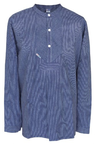 Fischerhemd Original schmal gestreift, Damen 46 = Herren 54