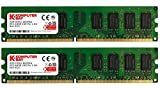 Komputerbay 8GB (2X4GB) DDR2 DIMM (240 PIN) 800Mhz PC2 6400 PC2 6300 8 GB - CL 5