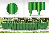 GardenPlast PalGarden Gartenpalisade, Rasenbord, Rasenkante 2,52 m, grün, 25x3x22.5 cm, 04-005