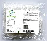 Zahnpflege Pool XYLIT Kariesschutz Pastillen | Süßigkeiten für gesunde Zähne | Pastillen mit Süßungsmittel Xylit | verschiedene Geschmacksrichtungen | 1.000g Großpackung | Vegan (Minze)