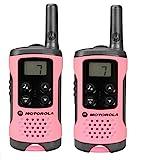 Motorola TLKR T41 PMR Funkgerät mit LC-Display pink