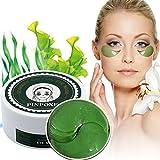 Eye Mask, Augen Masken, Augenmaske, Kollagen Augenmaske, Anti-Falten Augenmasken, Algen Kristall pad Augenpads, Feuchtigkeit spendende, entfernen Taschen, dunkle Kreise & Puffiness, 60pcs/box