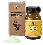beegut Gelée Royal Pulver, 50g gefriergetrocknetes Gelee Royal, lange haltbar ohne Kühlung, zur einfachen Einnahme