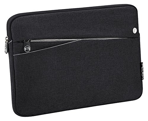 PEDEA Tablet PC Tasche 'Fashion' für 12,9 Zoll (32,8cm) Tablet Schutzhülle Tasche Etui Case mit Zubehörfach und Schultergurt, schwarz