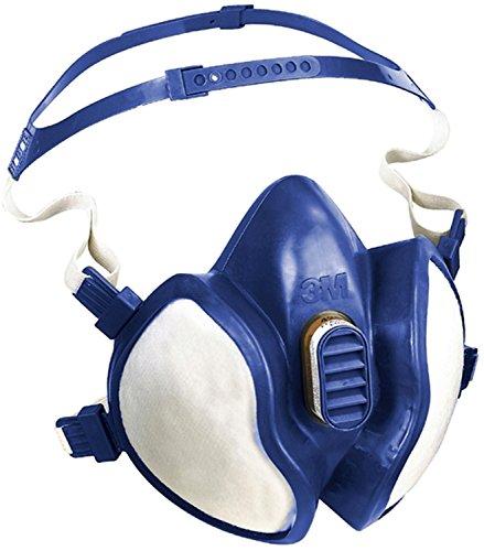 3M Atemschutz-Halbmaske 4277 / Komplettmaske gegen organische & anorganische Gase, Dämpfe & Partikel / Geruchsmindernde Atemschutzmaske der Schutzstufe A2P3