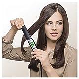 Braun Satin Hair 7 ES2 Haarglätter , Glätteisen mit IONtec Technologie für glattere Haare, 15 Sek. Schnellaufheizzeit, 200°C max,1,8 m Kabel, 400 gr. leicht, schwarz