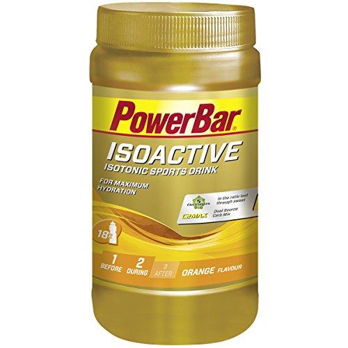 Powerbar Isoactive Isotonisches Sportgetränk (5 Elektrolyte und C2max Dual Source Carb Mix) Orange, 600g