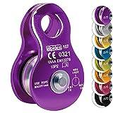 Seilrolle Mobile Pulley Helios von Alpidex Umlenkrolle, Farbe:violet