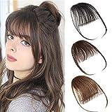 Air Pony Hair Clip In Pony Echthaar 100% Real One Stück Haar Extension mit Seite Tempel