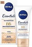 NIVEA Getönte Tagespflege für helle Hauttypen, 50 ml Tube, 5-in-1 BB Cream