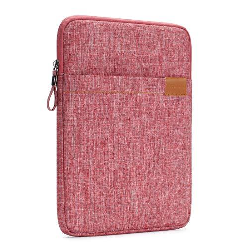 NIDOO 10 Zoll Tablet Hülle Wasserdicht Sleeve Case Etui Tasche Schutztasche für 10.5' iPad Air / 9.7' 10.5' 11' iPad Pro / 10.1' Lenovo Ideapad D330 / 10' Surface Go / 10.5' Samsung Galaxy Tab S4, Rot