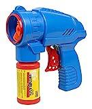 Idena 40089 - Seifenblasenpistole Inklusive Seifenblasenlösung, 53 ml, blau