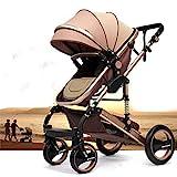 """Kinderwagen """"California"""", 3 in 1 Kombikinderwagen Megaset 8 teilig inkl. Babywanne, Babyschale, Sportwagen und Zubehör, zertifiziert nach der Sicherheitsnorm EN1888"""