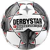 Derbystar Kinder Bundesliga Magic S-Light Fußball, weiß schwarz rot, 4