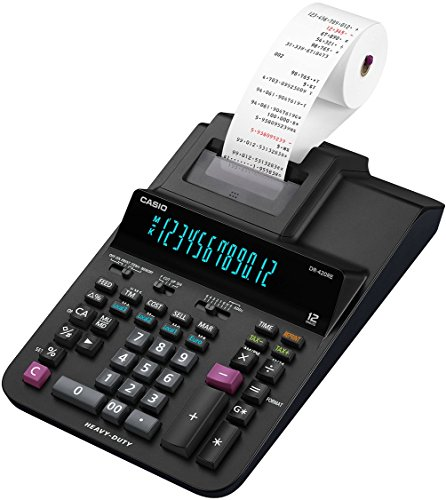 Casio DR-420RE druckender Tischrechner, 12-stellig