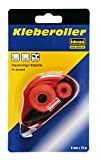 Idena 326147 - Kleberoller, 10 m x 8 mm, doppelseitiger Klebefilm