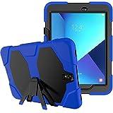 3in1 Outdoor Hülle für Samsung Galaxy Tab S3 9.7 Zoll (SM-T820 / SM-T825) stoßfestes Hardcase und Silikonrahmen Tablet Hybrid