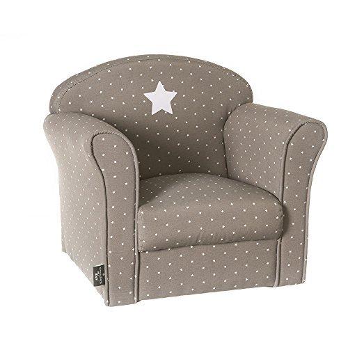 Die taupe Sessel für Kinder