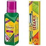 Seramis Flüssiger Pflanzendünger mit Dosierhilfe für Orchideen, Vitalnahrung, 200 ml, Grün