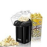Aicok Popcornmaschine, 1200W Heißluft Popcorn Maker, Öl ist nicht notwendig, Weites-Kaliber-Design mit Messbecher und abnehmbarem Deckel, FDA zugelassen und BPA-Frei