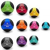 Medizinball »Medicus« / 1 - 10kg / Fitnessball / Gewichtsball / Leichte bis sehr schwere Gymnastikbälle in professioneller Studio-Qualität 2kg / hellgrün