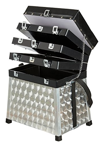 Aluminium Sitzkiepe 4-ladig