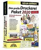 Das große Druckerei Paket 2020 - Einladungen, Glückwunsch Karten, Etiketten, CD-DVD Labels, Visitenkarten für Windows 10, 8.1, 7