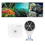 JXQ-N Aquarium Sterilizing Oxygenator Elektronisches Algenentfernungsgerät/Gereinigtes Wasser Smart-Reiniger (Touch Control) für Fischgerechtes und Aquariumwasser (UK)