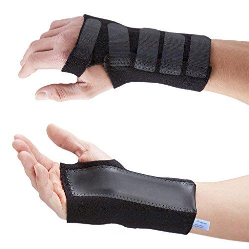 Actesso Fortgeschritten Handgelenkbandage handgelenkschiene mit schiene bandage (Mittelgroß, Rechts)- Sofortige schmerzlinderung für Karpaltunnelsyndrom, handgelenkverstauchungen und handgelenk Arthritis. Medizinisch bewährt