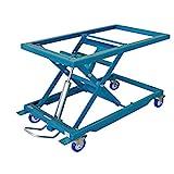 Beck midi HS 300 midi Hubtisch - fahrbarer Scherenhubtisch | Arbeitstisch mit Plattformgrundrahmen
