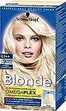 Schwarzkopf Blonde Aufheller L1++ Extrem Plus Stufe 3, 3er Pack (3 x 143 ml)
