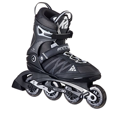 K2 Inline Skate Herren Fit 80, schwarz, 43.5 EU