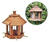 Vogelfutterhaus, Vogelfutterstation 26x26x27cm aus Holz