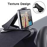 Modohe Handyhalterung Auto, Kfz Armaturenbrett Universal rutschfest Handyhalter für iPhone XR XS Max X 8 7 6s Plus Samsung S10 S9 S8 Note Huawei P20 und alle 3.5-6.5 Zoll Smartphones (Schwarz)