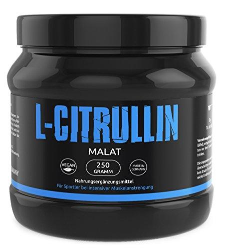 L-CITRULLIN - Malat Pulver | Vegan | Rein | Deutsche Premiumqualität | NO Stickstoff