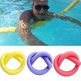 GEZICHTA Schwimmnudel, Schwimmhilfe, aus Schaumstoff, für Erwachsene und Kinder- fürSchwimmunterricht, Reha, Hydrotherapie, extrem strapazierfähig.