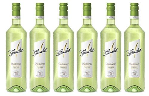 Blanchet Chardonnay Weißwein Trocken (6 x 0,75l)