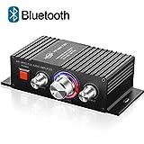 Mini HiFi Verstärker Bluetooth 12V TTMOW 2 x 30W Stereo Audio Amplifier Bass Kanal Audio Endstufe Kleiner Verstaerker für Home und Auto KFZ (DC 12V / 3A-10A Universaladapter, Nicht Enthalten)