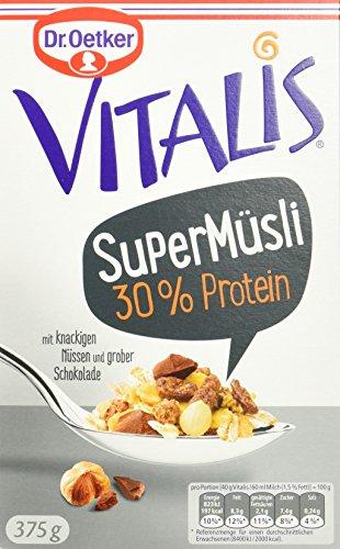 Dr. Oetker Vitalis SuperMüsli 30% Protein, 8er Pack (8 x 375 g)