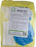 MRSA - SET mit zertifizierten Schutzkittel Infektions Schutzset von Medi-Inn TOP (25)