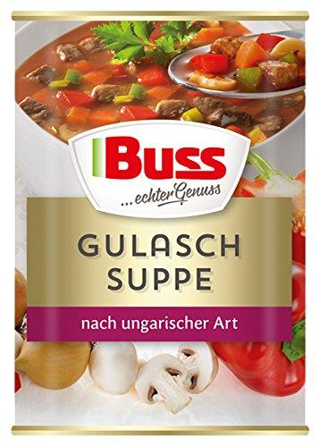 Buss Gulaschsuppe nach ungarischer Art, 12er Pack (12 x 400 g)
