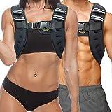 TNT Pro Series Iron Weighted Vest für Damen und Herren - gleichmäßig verteiltes Eisen gefüllte leichte Weste für maximale Leistung und Komfort - 11 lbs