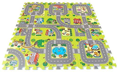 Brigamo 18011 -  Stadt Puzzlematte unendlich erweiterbar!