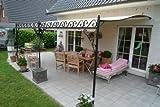 KUHEIGA Terrassenüberdachung verschiedenene Maße verzinkt, Überdachung, Terrassendach,