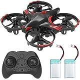 REDPAWZ R012 Drohne Mini Drohne für Kinder+Geste Sensing Hände frei Drohne,RC Helikopter Drone mit Automatischer Höhehaltenmodus Hindernisvermeidungsfunktion,Spielzeug für Anfänger- Zwei Batterie