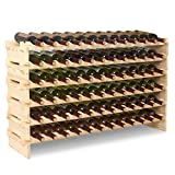 mecor Holz Weinregal XL&XXL Flaschenregal Weinständer